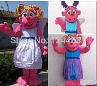 abby girl - Hot selling Hot Sale Pretty Pink Girl Fairy Abby Cadabby Mascot Costume Suitable for different holidays