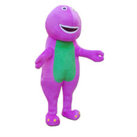 barney outfits - Fancytrader Best Seller EPE Barney Dinosaur Mascot Costume Halloween Birthday Party Prop Outfit Dress Adult Size