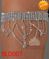 Wholesale Rhinestone arm bracelet fashion armlets wedding bracelets bridal jewellery BLD007