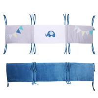 Wholesale Baby bed bumper new style cm crib around protection cotton for newborn baby