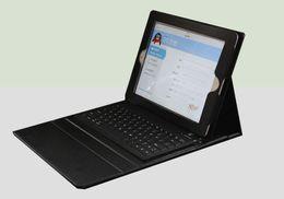 Wholesale Étui en cuir folio de folio de clavier de silicone de bluetooth de cas de vente de cas chaud de vente pour l ipad pro air mini