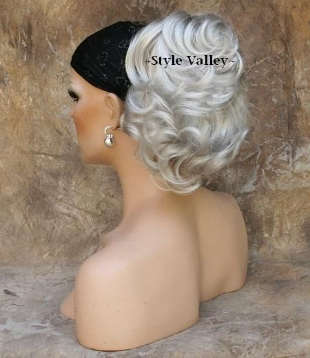 Gray Ponytail Extension 96