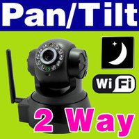 Wholesale 1PCS HOT EasyN Brand WPA Wireless Wi Fi Internet PTZ Dual Audio IP Camera M136W