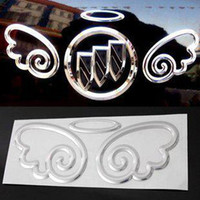 wing mirror - Angel wings personalized car stickers car stickers D stereo ring decorative stickers car stickers