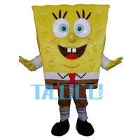 adult spongebob costumes - Spongebob Mascot Costume Adult Size Fancy Dress Party for festival Free Ship
