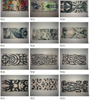 Wholesale tattoo sleeves fashion and novelty tattoo sleeve arm leg elastic sleeves free shippment
