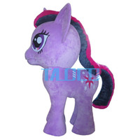 adult horse costumes - Little dragon horse Mascot Costume Adult Character High quality adult size