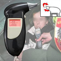 Wholesale Drive safty Digital Alcohol Breathalyzer alcohol testers breath tester Breath Analyzer LCD