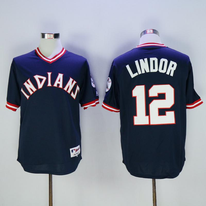 Remplacement de Cleveland 1976 # 7 Kenny Lofton 12 Francisco Lindor 19 Feller 22