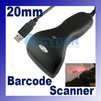Wholesale USB mm Long CCD HandHeld Barcode Scanner Bar Code Reader RED LED Bi directional
