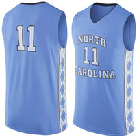 Wholesale NO North Carolina Tar Heels Men College Basketball Jersey embroidery Athletic Outdoor Apparel Mens Sport Jerseys Size S XL
