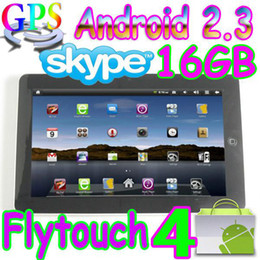 Wholesale 5pcs Flytouch GB Android market quot tablet pc GPS webcam infotmic X220 arm11 superpad