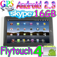 Wholesale 2pcs Flytouch GB Android market quot tablet pc GPS webcam X220 superpad D