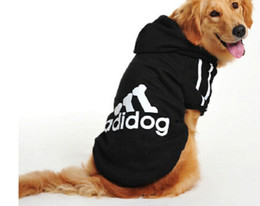 Wholesale Big Dog Clothes for Golden Retriever Dogs Large Size Winter Dogs coat Hoodie Apparel Clothing for dogs Sportswear XL XL