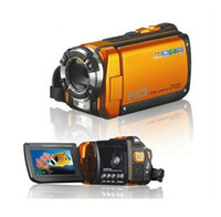 Wholesale 270 degree rotate MP HD P Waterproof Camcorder Digital Video Camera quot Display