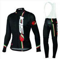 bianchi long sleeve - 2016 Newest Arrival SIDI Cycling Jerseys Long Sleeve Cycling Pants Sets Outdoor bianchi women Cycling Clothing scott fdj