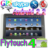 Wholesale Flytouch built in G GSM G call Android market quot tablet pc GPS webcam X220