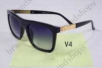 big eyeglasses - high quality unisex sunglasses fashion uv400 cool retro brand personality big square eyeglass