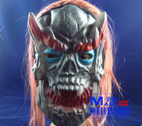 Wholesale Funny Halloween mask the whole human mask Horror mask a face mask rubber
