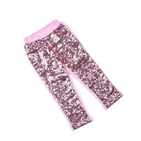baby blue boots - soft sequins cotton Fall girls hot pink sequin pants most popular baby gilr fashion sequins trousers