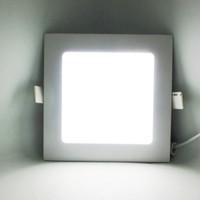 Wholesale Epistar LED Panel Light W W W W W W W W SMD2835 Embeded LED Lights with Aluminm for Indoor