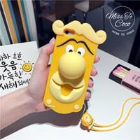 3D Cute Hot Cartoon Sulley Tigger Alice Cat Housse en silicone pour iphone6 6plus 7 7plus Lite Rubber Housse pour téléphone portable Shell Skin New