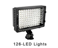 Wholesale CN LED Camera Lights Video Camcorder Hot Shoe Light Lamp DV Camcorder New