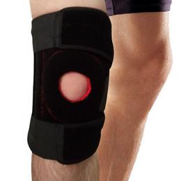 New 1 Pcs Neoprene Patella Sports Leg Knee pad Black Sleeve Tape Protector Pad Bandage Support Adjustable Knee Brace Free Shipping