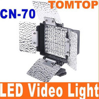 Canon Sony Nikon CN-70 LED Light 70 LED Lamp For Camear Video Camcorder DV Camera LED Light Hot Selling 10pcs lot