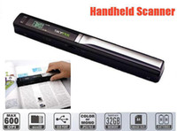 Wholesale new SKYPIX TSN410 Handheld Scanner Cordless Mini Portable Scanner Handyscan A4 Color Sensor
