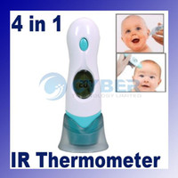 Wholesale Ear Infrared Thermometer Baby Or Adult Digital in Forehead Infrared Thermometer Multi Functional