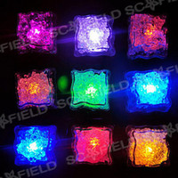 Wholesale 50pcs Ice Cube Light for Party Wedding Christmas Led Cycle Through Various Colors CG104834