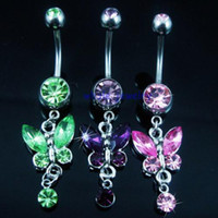Wholesale body piercing jewelry belly ring navel ring JFB