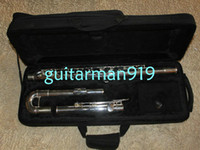 Wholesale New Arrival Sliver Great bigger tenor bass flute Musical Instruments