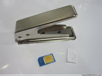 Wholesale Micro Sim Card Cutter w Sim Adapter for iPhone os