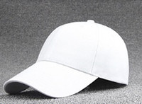 Wholesale Hot trend new fashion korean spring pure color cotton baseball cap and peaked cap for men and women