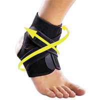 ankle sprain support - 1pcs Badminton Sport Protective Gear Basketball Football Sprained Pressure Strap Feet Ankle Adjustable Nursing Ankle