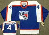 avery hockey - New York Rangers CCM Vintage Throwback Away Rod Gilbert RON DUGUAY RON GRESCHNER Sean Avery Blue Hockey Jerseys