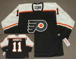 Wholesale Philadelphia Flyers CCM Vintage Throwback Away JOHN LeCLAIR TONY AMONTE Mike Richards MIKAEL RENBERG Hockey Jerseys