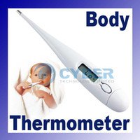 Wholesale Heating Thermometer Baby Child Adult Body Digital LCD Heating Thermometer White Compact Accurate