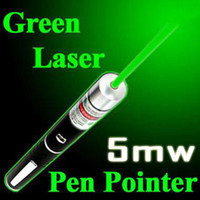 Wholesale 5mW nm Green Pointer Beam Laser Pen for school doctor