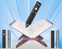 Wholesale 10pcs New Islamic Quran Book Reader Muslim Quran Pen Mp3 player built in GB DHL to Europe