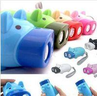 Wholesale Available Hand pressure authigenic flashlight energy saving
