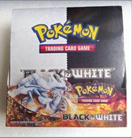 Wholesale DHL new Trading Card Game Black and White Card Game