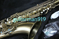 Wholesale New Arrival Woodwind Brass Antique Copper SELME Tenor Saxophone Very beautiful Musical Instruments