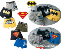 Wholesale 2011 baby SUPER MAN Boxer Shorts underwear panty pants drawers underpants underdrawers inner pants