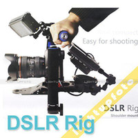 Wholesale HOT For Canon Panasonic Sony DSLR Rig Movie Kit Shoulder Mount