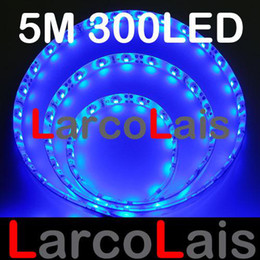 20%OFF Waterproof 5M 300 LED 3528 1210 Flexible Strip Lights Christmas Holiday Wedding Light Blue