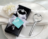 Wholesale 100pcs Bottle Opener Key to My Heart Wedding Favors Gift for Guests