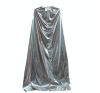 Wholesale Halloween Costumes Performance Apparel Costume For Halloween silver cloak